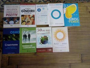 Cărțile - dezvoltare personală