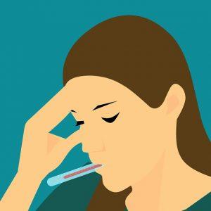 semne de alertă - febra